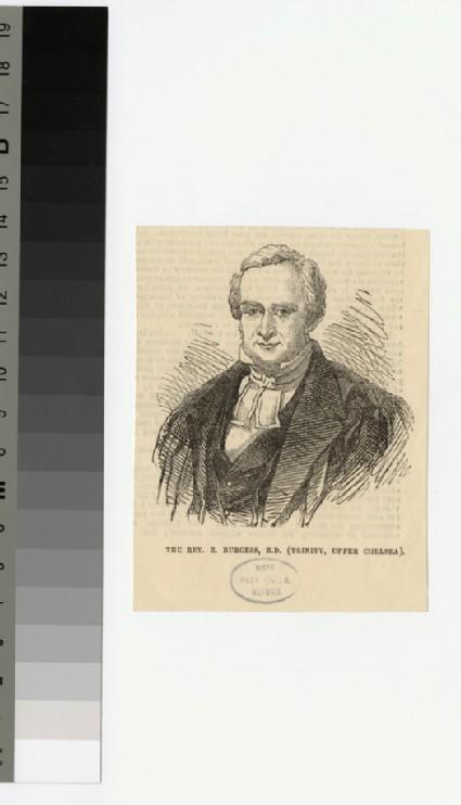 Portrait of R. Burgess