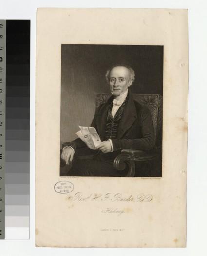 Portrait of H. F. Burder