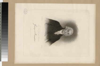 Portrait of G. Burder