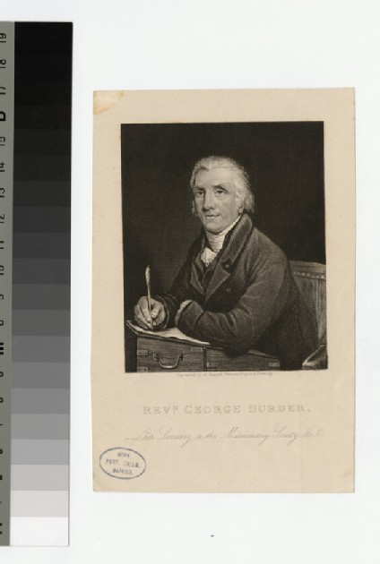 Portrait of Rev. George Burder