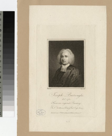 Portrait of Joseph Burroughs