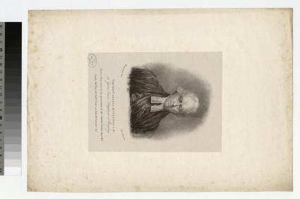 Portrait of Rev. Arnold Burrowes