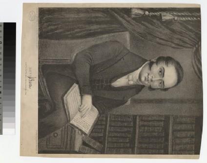 Portrait of J. Burns
