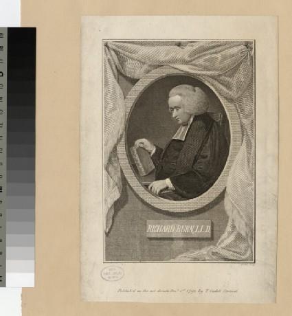 Portrait of Rev.Dr R. Burn
