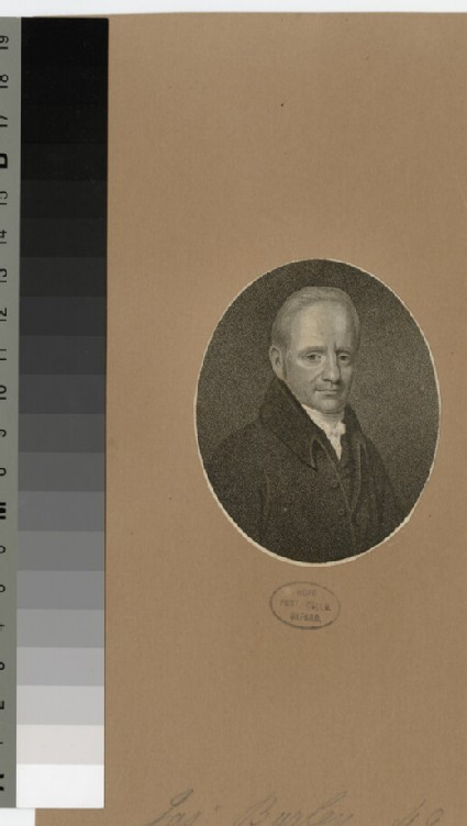 Portrait of J. Burley