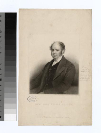 Portrait of J. W. Button