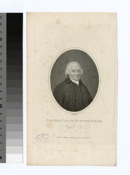 Portrait of J. Butterworth