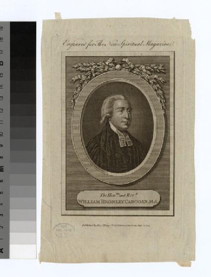 Portrait of W. B. Cadogan
