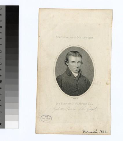 Portrait of D. Campbell