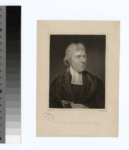Portrait of Rev. Richard Cecil