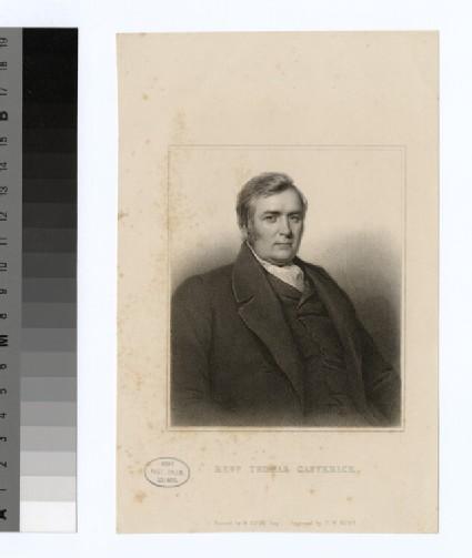 Portrait of T. Catterick