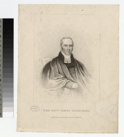 Portrait of Jas Churchill