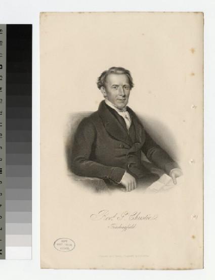 Portrait of G. Christie