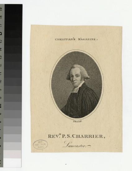 Portrait of P. S. Charrier
