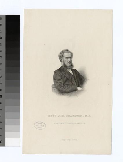 Portrait of J. M. Charlton
