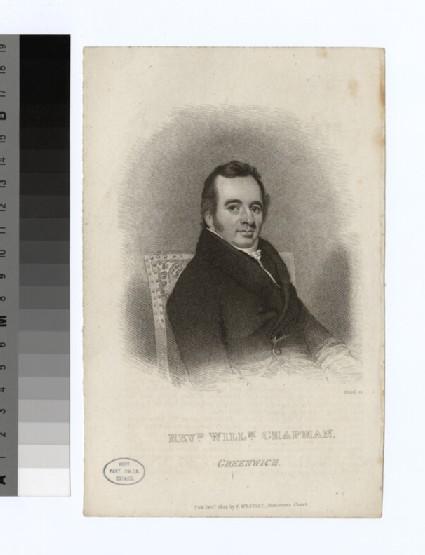 Portrait of W. Chapman