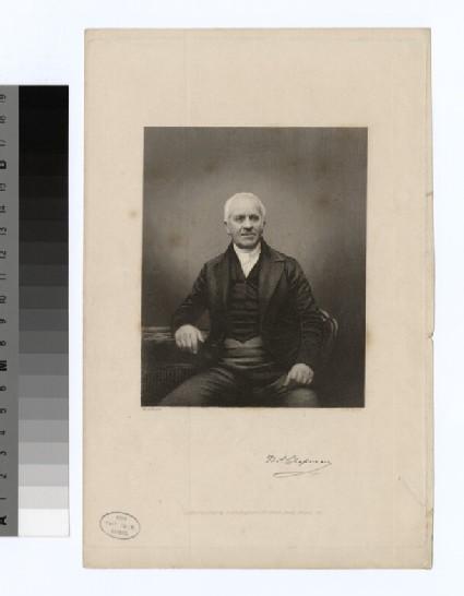 Portrait of T. Chapman