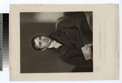 Portrait of J. Chamberlain