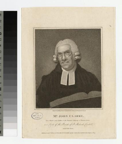 Portrait of J. Clarke