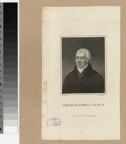 Portrait of Adam Clarke