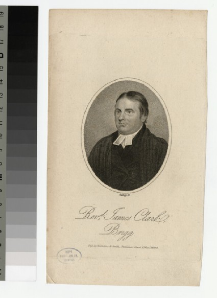 Portrait of J. Clark