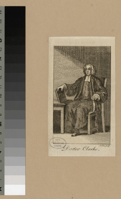 Portrait of Dr Clarke