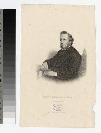 Portrait of C. Clemance