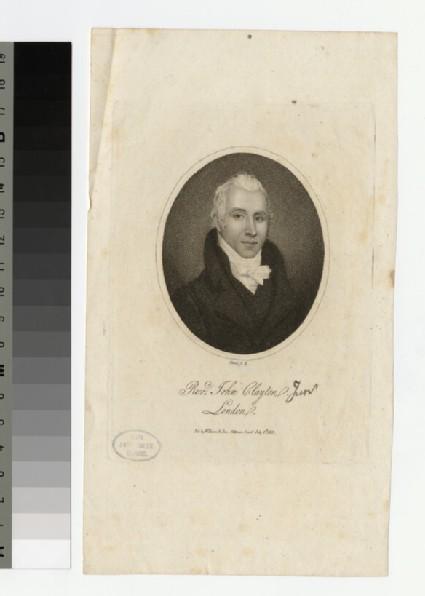 Portrait of J. Clayton