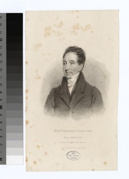 Portrait of G. Clayton