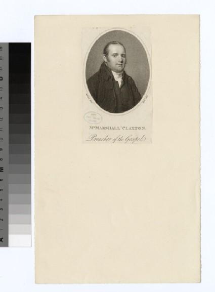 Portrait of Marshall Clayton