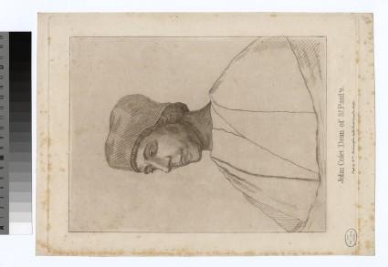 Portrait of J. Colet