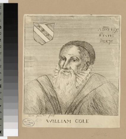 Portrait of W. Cole