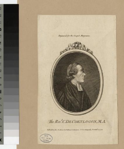 Portrait of C. de Coetlogon