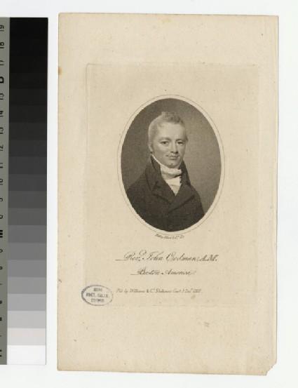 Portrait of J. Codman