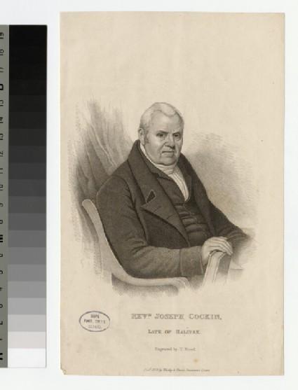 Portrait of J. Cockin