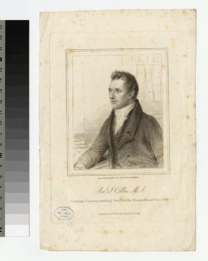 Portrait of J. Cobbin