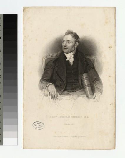 Portrait of Revd I. Cobbin