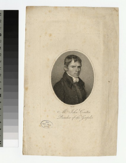 Portrait of J. Coates