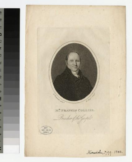 Portrait of Francis Collier