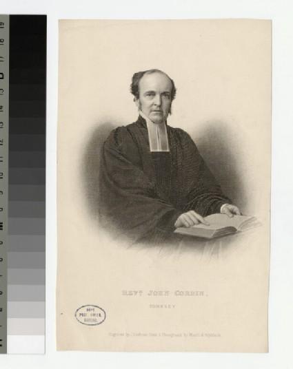 Portrait of J. Corbin