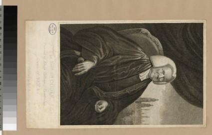 Portrait of Rev.DR W. Cook