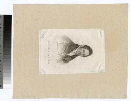 Portrait of F. A. Cox