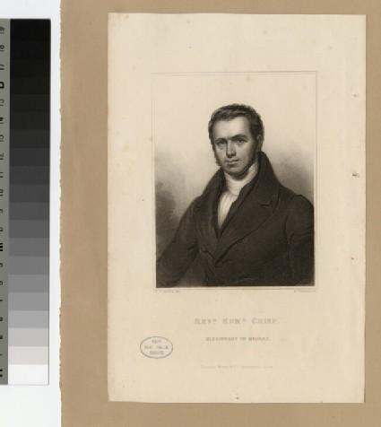 Portrait of Revd Edmund Crisp