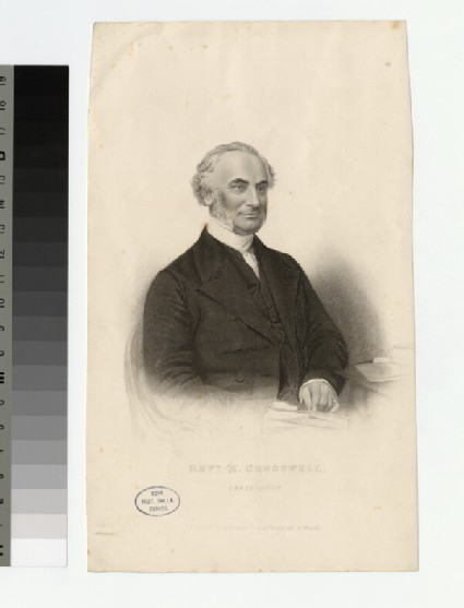 Portrait of H. Cresswell