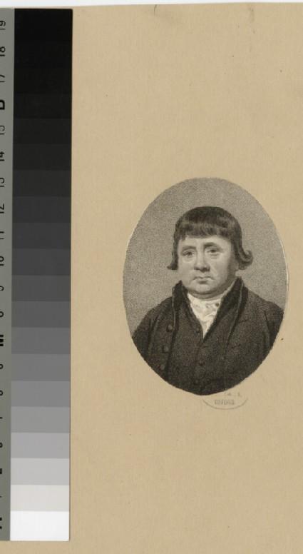 Portrait of Mr Crichett
