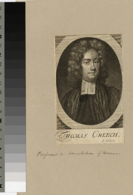 Portrait of T. Creech
