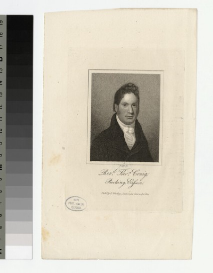 Portrait of T. Craig