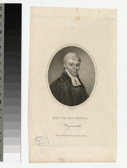 Portrait of R. Cracknell