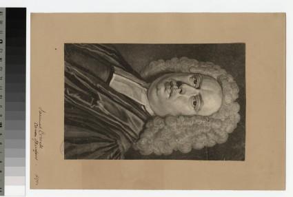 Portrait of Revd S. Croxall