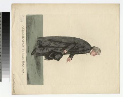 Portrait of Revd Dr William Crow